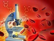 分析血液 免版税图库摄影