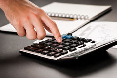 分析财务的数据 库存图片
