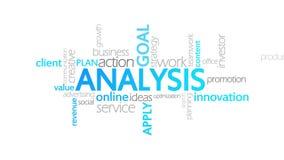 分析,生气蓬勃的印刷术 向量例证
