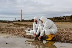 水质分析 免版税图库摄影