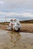 水质分析 免版税库存照片