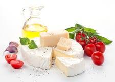 分类干酪 免版税库存图片
