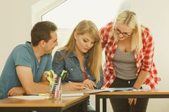 分类组学员 免版税库存照片