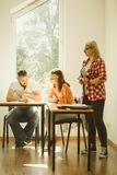 分类组学员 免版税图库摄影