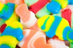 分类背景糖果 图库摄影