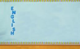 分类英语 图库摄影