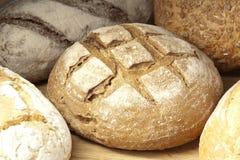 分类被烘烤的面包 免版税库存照片