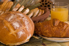 分类被烘烤的面包 图库摄影