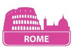 分级显示罗马 库存例证