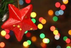 分行圣诞节星形结构树 库存图片