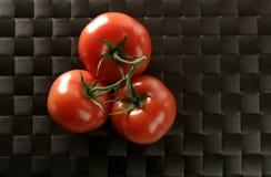 分行红色三蕃茄 免版税库存图片