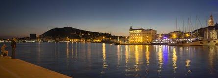 分裂,克罗地亚在夜之前 库存图片