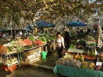 分裂(克罗地亚)市场 免版税图库摄影