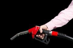 分配器燃料现有量人s 免版税库存照片