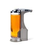 分配器电子肥皂 免版税库存照片