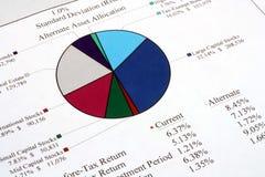 分配备选资产 免版税库存图片