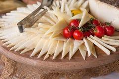 分类开胃菜和手抓食物 图库摄影
