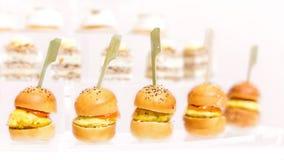分类开胃菜和手抓食物 库存照片