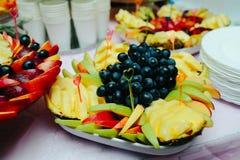 分类异乎寻常的果子 免版税库存照片