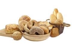 分类被烘烤的面包新近地 库存照片