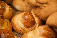 分类面包店面包货物 库存照片