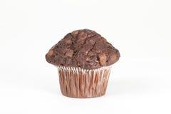 切削巧克力松饼 免版税库存图片