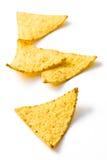 切削烤干酪辣味玉米片 库存图片