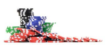 切削赌博 免版税库存图片