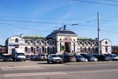 切博克萨雷,楚瓦什共和国 免版税库存图片