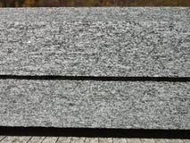 切口平板花岗岩 表面看法 图库摄影
