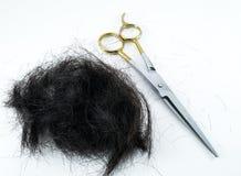 切口头发 免版税库存图片