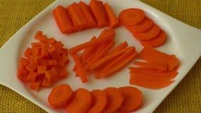 切好的和切的红萝卜 股票录像