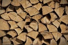 切好的木头 库存照片