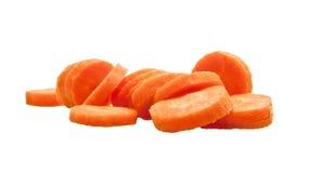 切好的红萝卜 库存图片