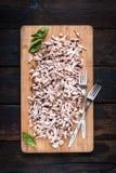 切好的肉猪肉 免版税库存图片