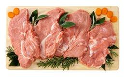 切小牛肉 免版税库存照片