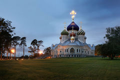 切尔尼戈夫和基辅的盛大王子伊戈尔大教堂在Peredelkino 库存图片
