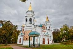 切尔尼戈夫,乌克兰- 2016年10月19日:变貌我们的救主, 11世纪,切尔尼戈夫,乌克兰的St大教堂 库存图片