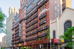 切尔西旅馆,纽约 免版税图库摄影