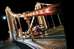 切尔西桥梁公共汽车 图库摄影