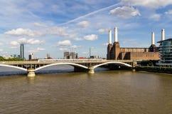 切尔西桥梁 免版税库存图片