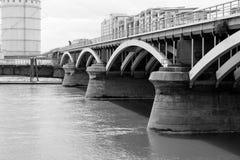 切尔西桥梁 库存照片