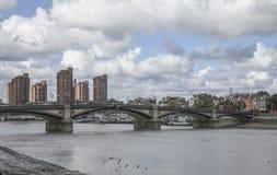 切尔西桥梁 免版税库存照片
