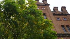 切尔诺夫策国立Bukovinian大学、住所和达尔马希亚城市居民,切尔诺夫策,乌克兰 股票视频