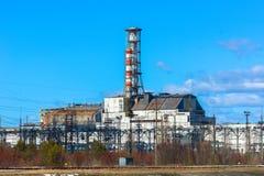 切尔诺贝利核工厂次幂 免版税库存图片