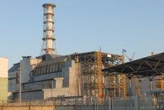切尔诺贝利核工厂次幂 免版税图库摄影