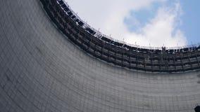 切尔诺贝利核电站冷却塔  影视素材