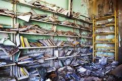 切尔诺贝利核事故1986年 免版税库存图片