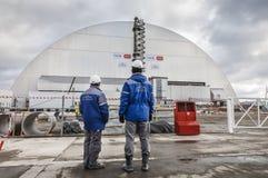 切尔诺贝利灾害基辅内存纪念碑核工厂次幂区域乌克兰 库存照片