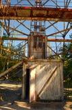 切尔诺贝利2 Duga雷达 俄国啄木鸟 库存照片